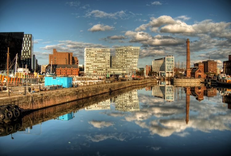Reflections Liverpool canal lat - neilhoward | ello