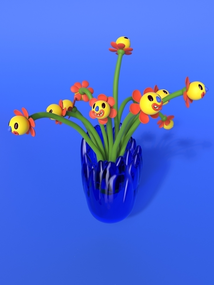 Flow Vase wildflowers JOY World - joy | ello