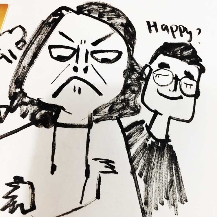 angry#happy#face#illustration#story - jessiezeng | ello