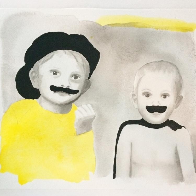 Liam Leo - indianink, watercolor - vasagatan | ello
