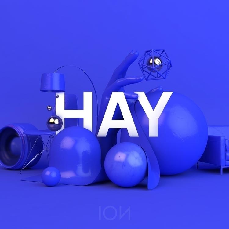 Hay-lo fellow ello friends - cinema4d - andreasivan | ello