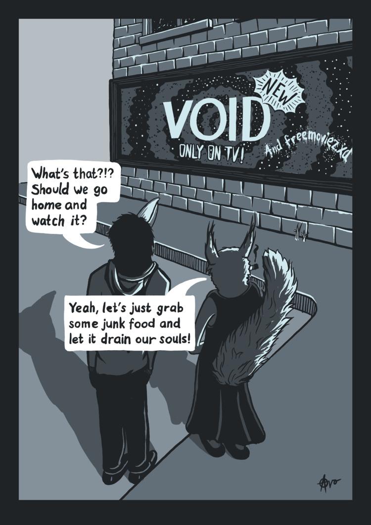 Void - illustration - fabianmichael | ello