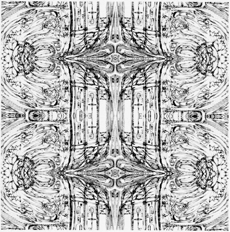 blackstar - rework - drawing, Collage - tsun-zaku | ello
