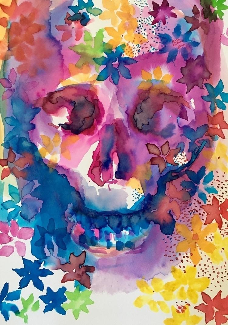 sell Day Dead artwork-Celebrati - arnabaartz | ello