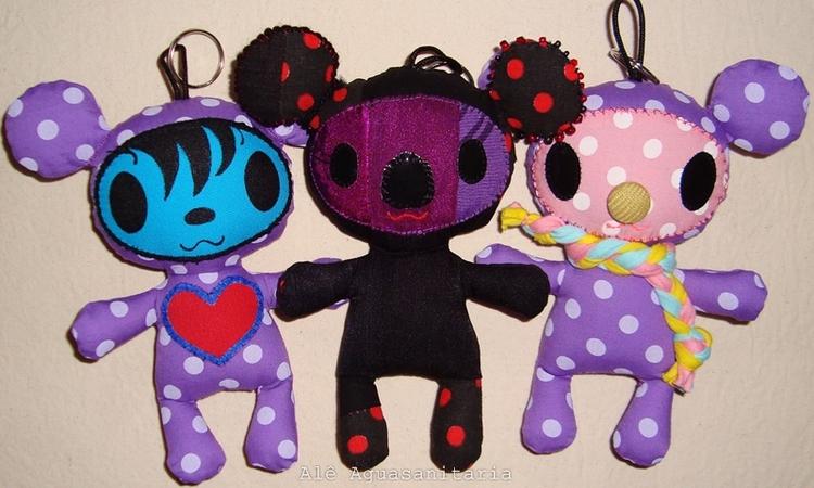 toyart, artesanato, teddybear - aguasanitaria | ello