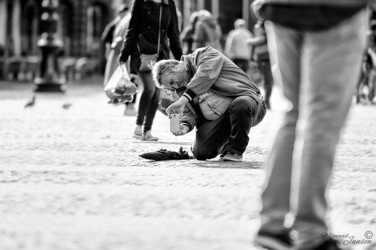 Making difficult photo - artmen | ello