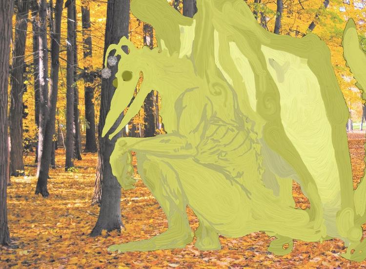 yellow king - mesencephaleisole | ello