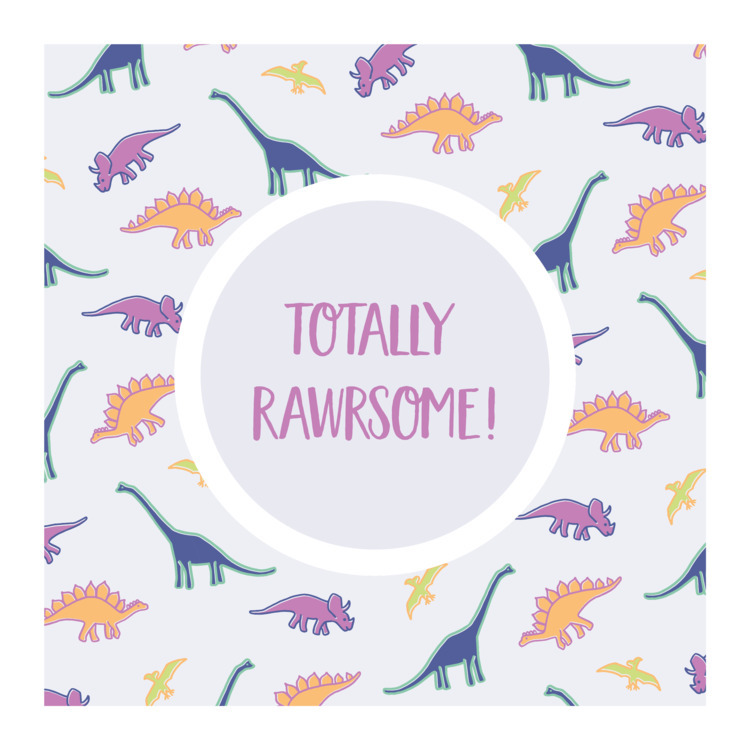 illustration, pattern, dino - ladymadepress | ello