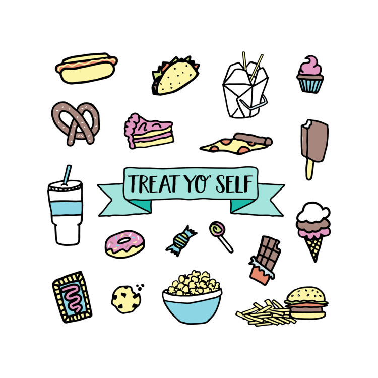 illustration, pattern, treats - ladymadepress | ello