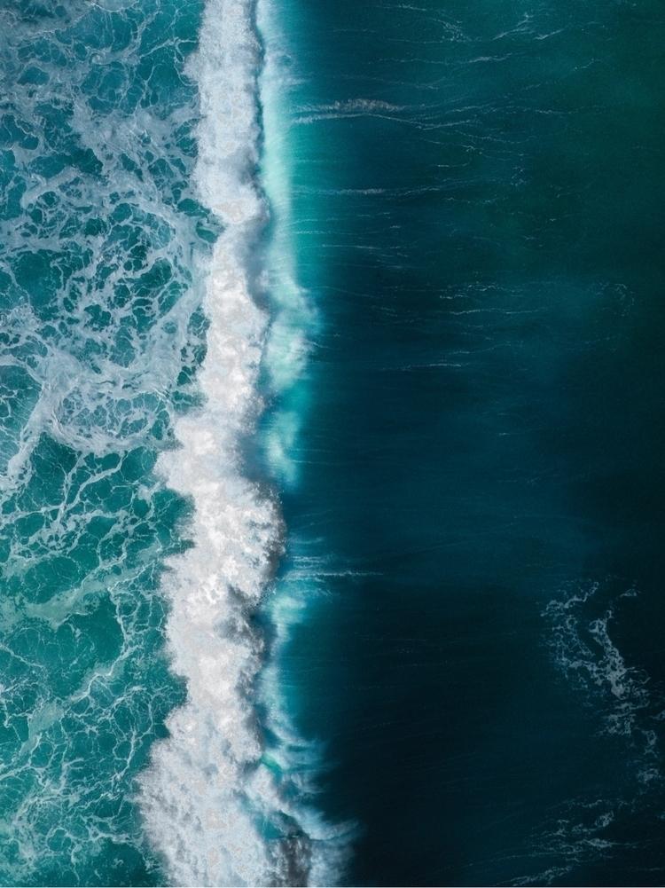 Waves crashing Bronte beach - droneinspo | ello