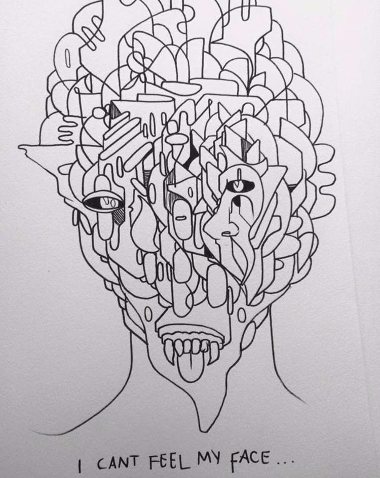 drawing - ReepsOne, VisualArt, Ello - reepsone   ello