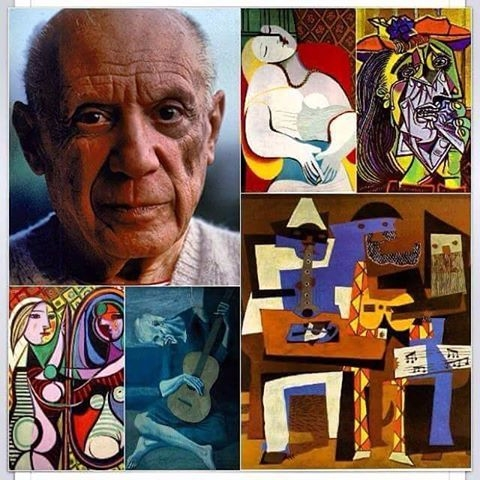 Happy birthday fave artists - PabloPicasso - vicsimon | ello