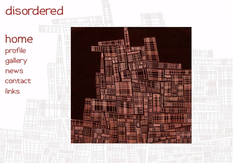 ***DISORDERED*** website - graphics - johnhopper | ello