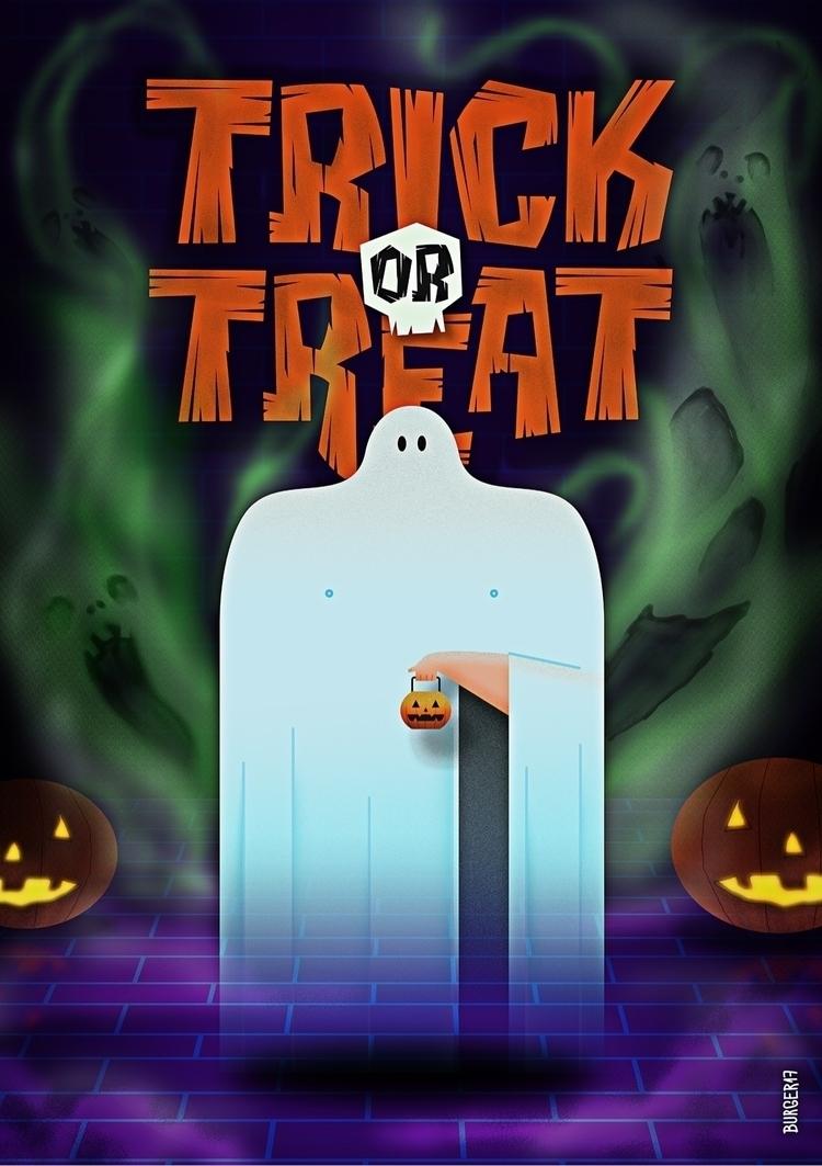 Happy Halloween - illustration, halloween - eduardoburger | ello