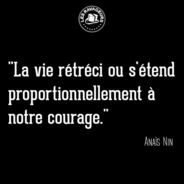 Ravageurs brave. | Anaïs Nin - lesravageurs | ello