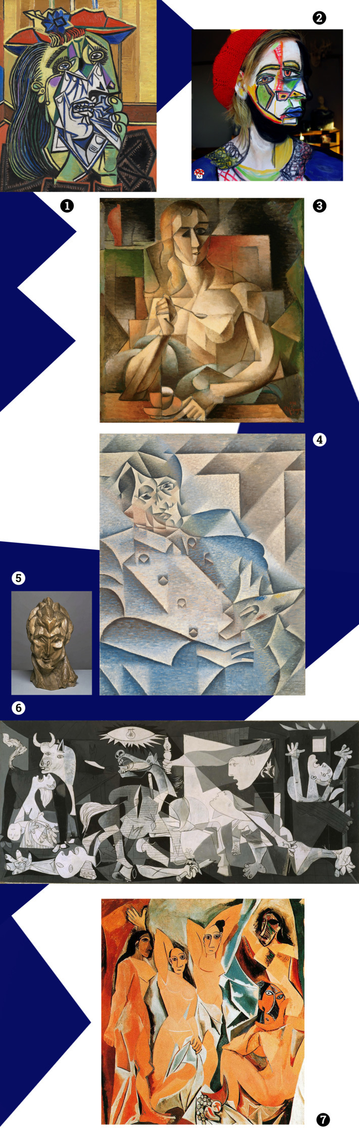 Cubism MOODboard sztukauniwersa - s_u_ | ello