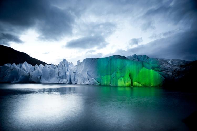 Hidropoética light projections  - ultimaesperanza   ello