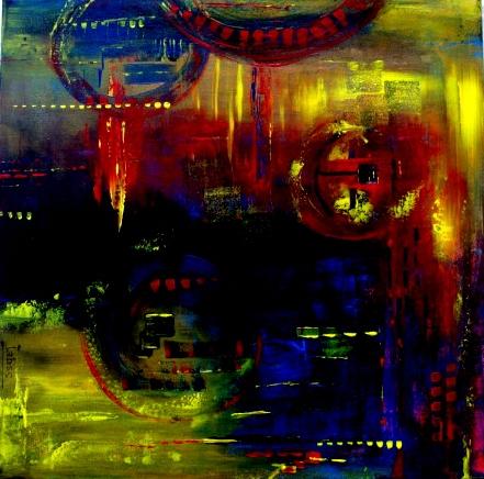 MAGIE DES COULEURS acrylique -  - jabss | ello