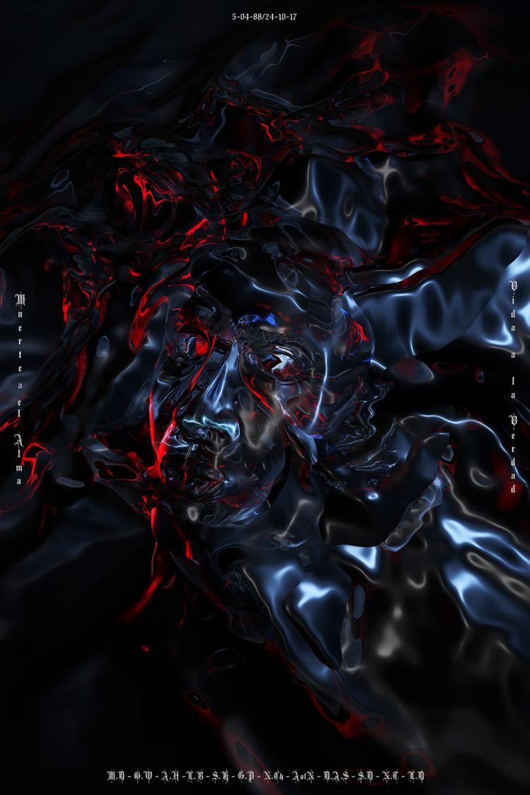 Portrait 2017 - 3D, Digital, Art - loza | ello