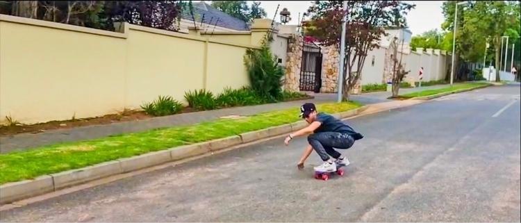 Cruising street - skate, skateboarding - deankoonin | ello