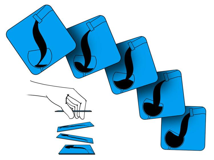 GIF coasters. Square cardboard  - jamesowendesign | ello