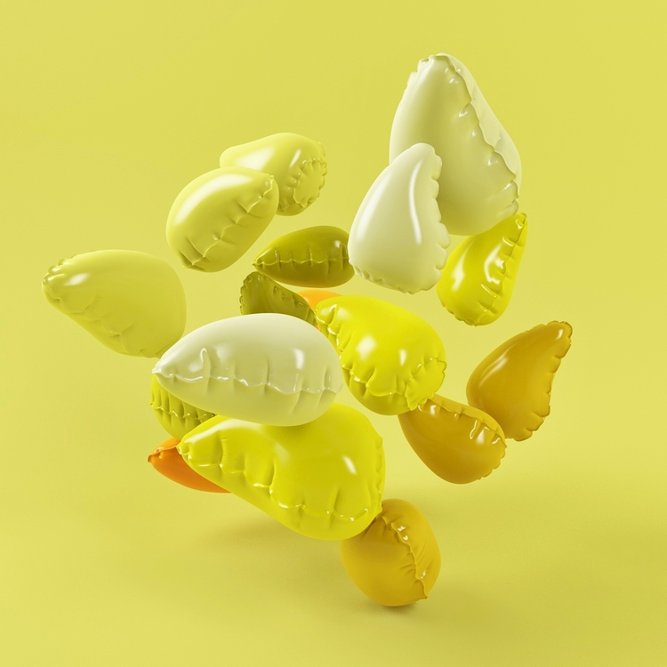 Cinema4D, VRay, Mango, Inflatable - geeme909 | ello