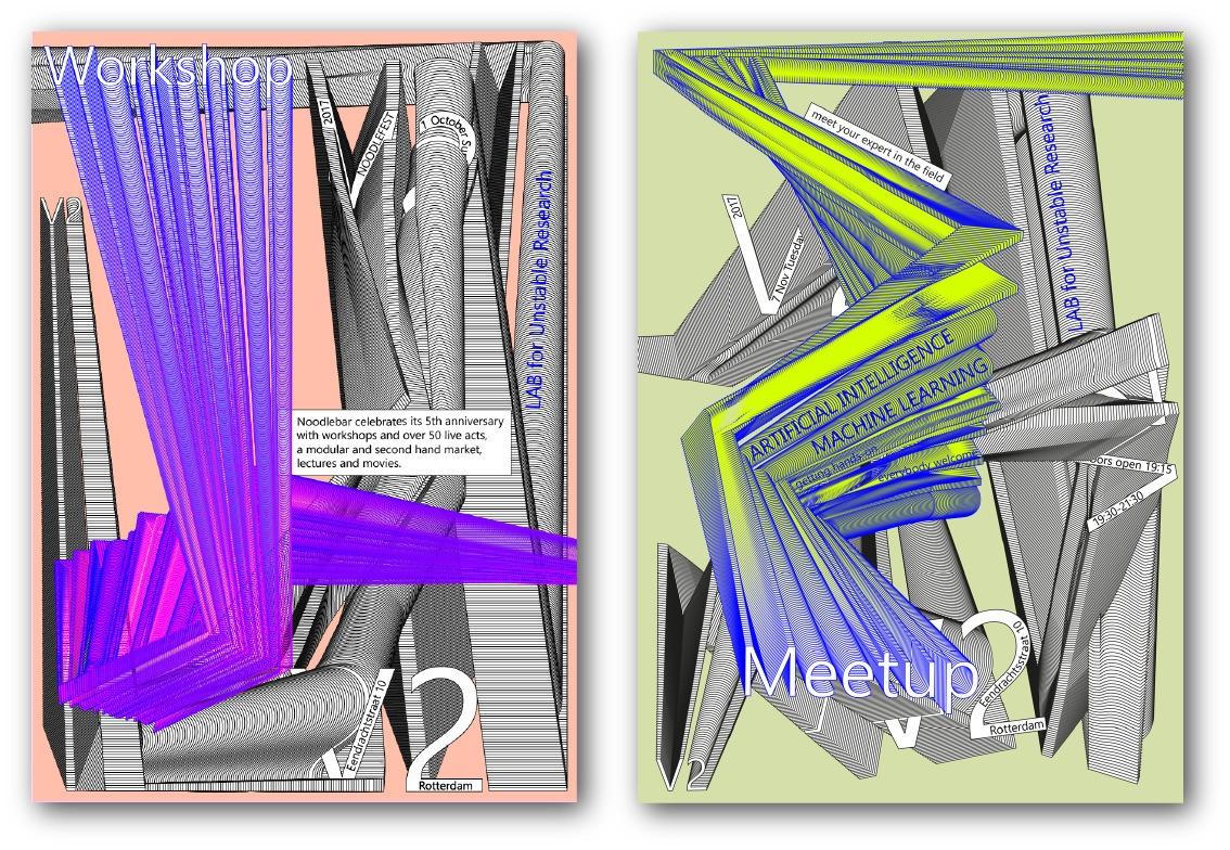 Posters events V2 - design, graphic - noemiino   ello