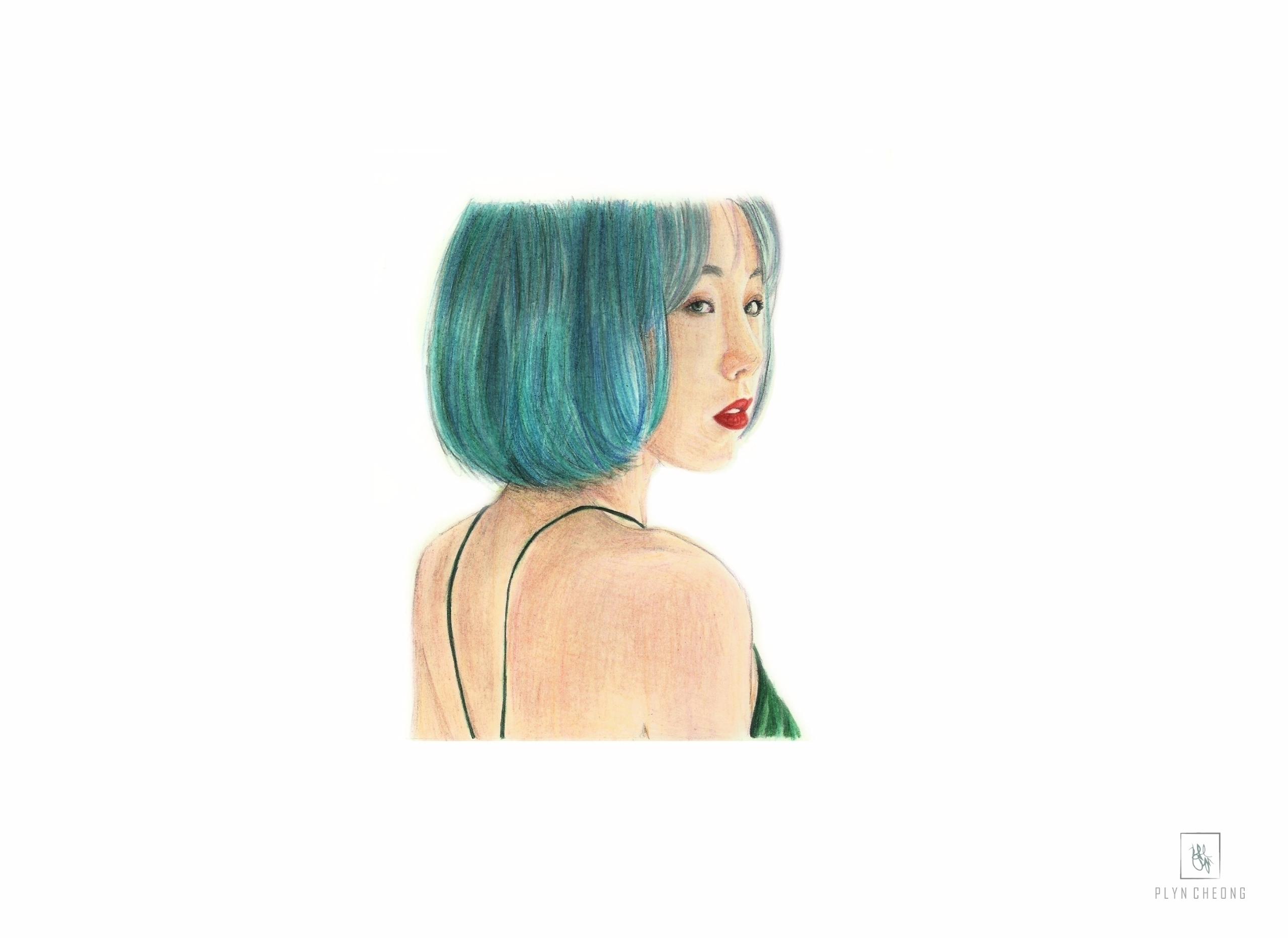 Taeyeon, snsd, practice, portrait - plyncheong | ello