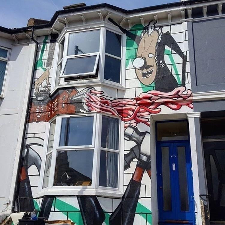 Repost - Brighton, England, pinkfloyd - bitfactory | ello