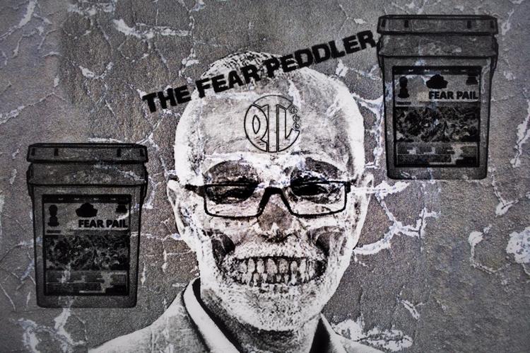Fear Peddler Politics Power Str - greycrossstudios | ello