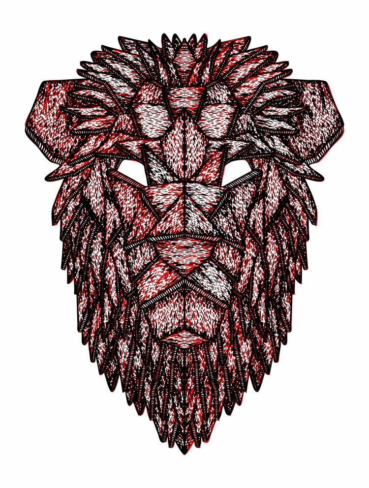 Lion Mask - bungodesign | ello