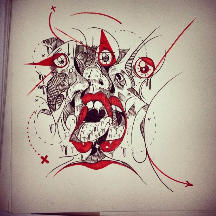 strange creation sleep - Ink pe - reepsone | ello