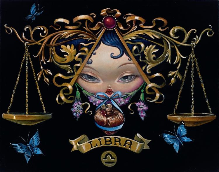 Bob Doucette LIBRA 11X14 Acryli - toboland | ello