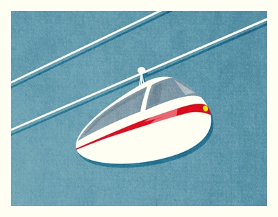Cablecar. Detail GIRAFFELAND  - johnjgriffiths   ello