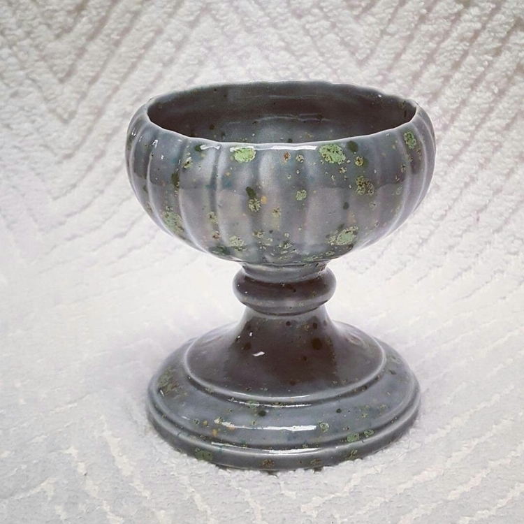 Goblet mossy glaze effect. drin - hiddenlegacy | ello
