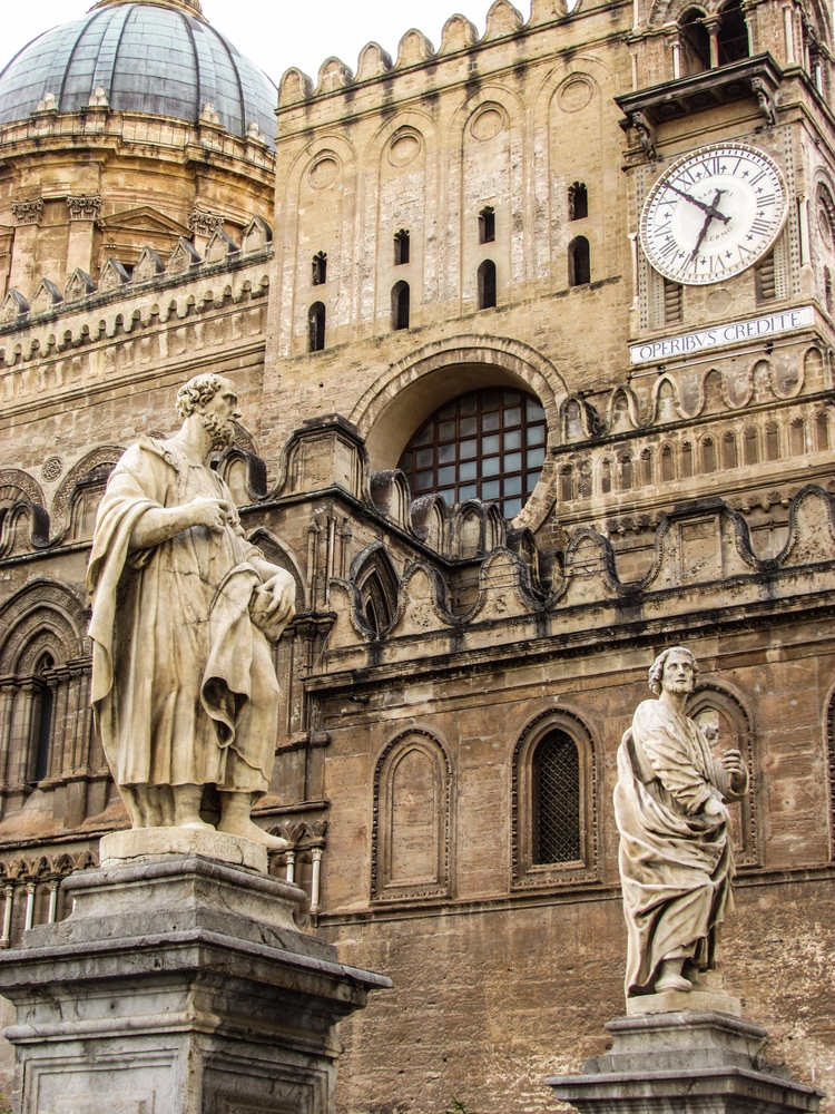 Cathedral Palermo, Sicily - restlessheartblog | ello