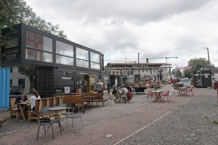 Telliskivi food district Keepin - walkscapesomewhere | ello