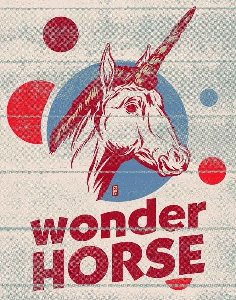 Horse - illustration - thomcat23 | ello