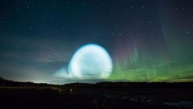 Extraña esfera de luz fue vista - codigooculto   ello