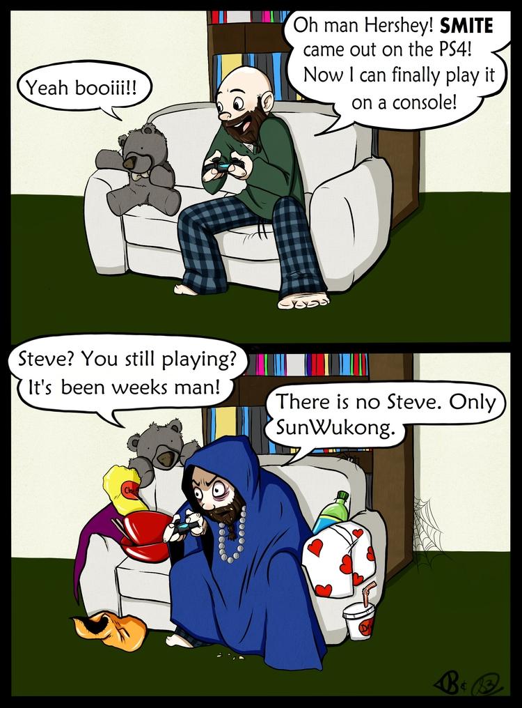 collab comic husband. drew, col - lewdatic | ello