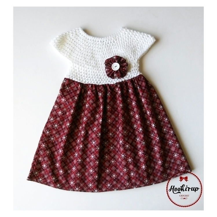 SnowFlake Red Dress (2-3 week t - hookitupcrochet | ello