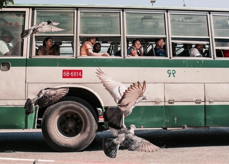 Scene bustling Main Street Yang - presbanproductions | ello