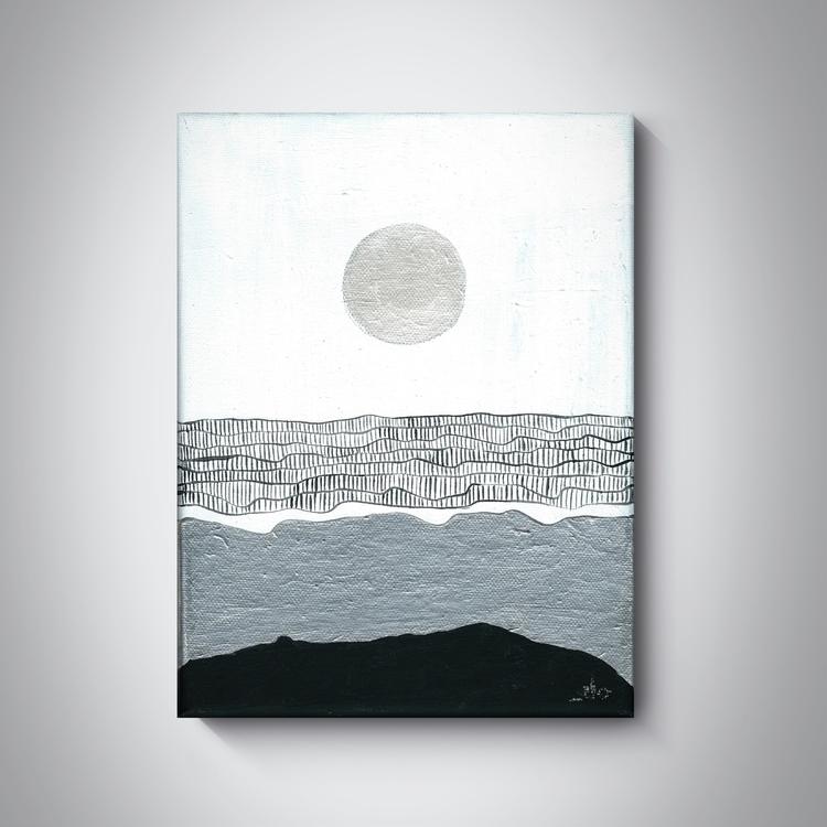 _Moon, painting, 2016 - ilobahie_art - ilobahie | ello