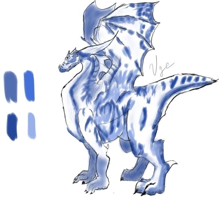 Draw Dragon: 6 steps? Story cre - vyache | ello