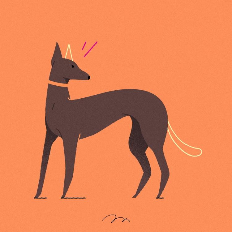 dog - mikyunglee | ello