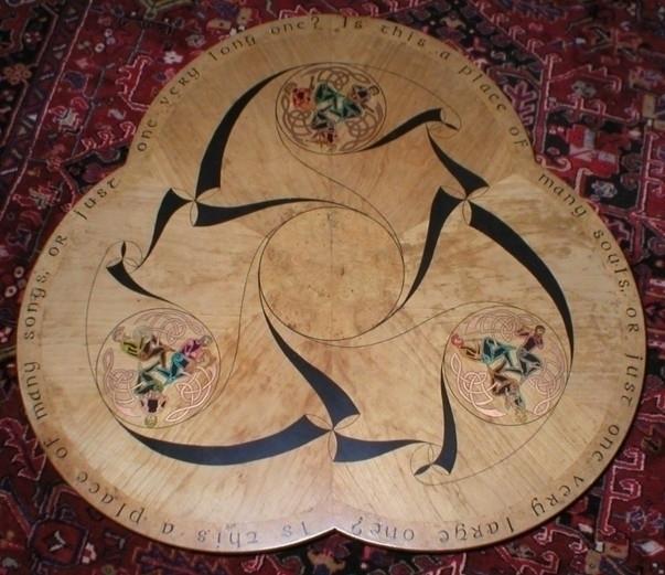 Celtic music coffee table displ - groomporter | ello