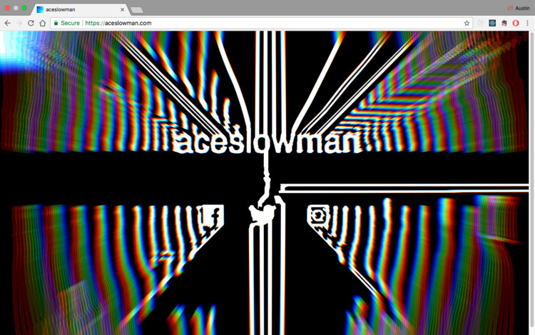 site webgl experiments! aceslow - aceslowman | ello