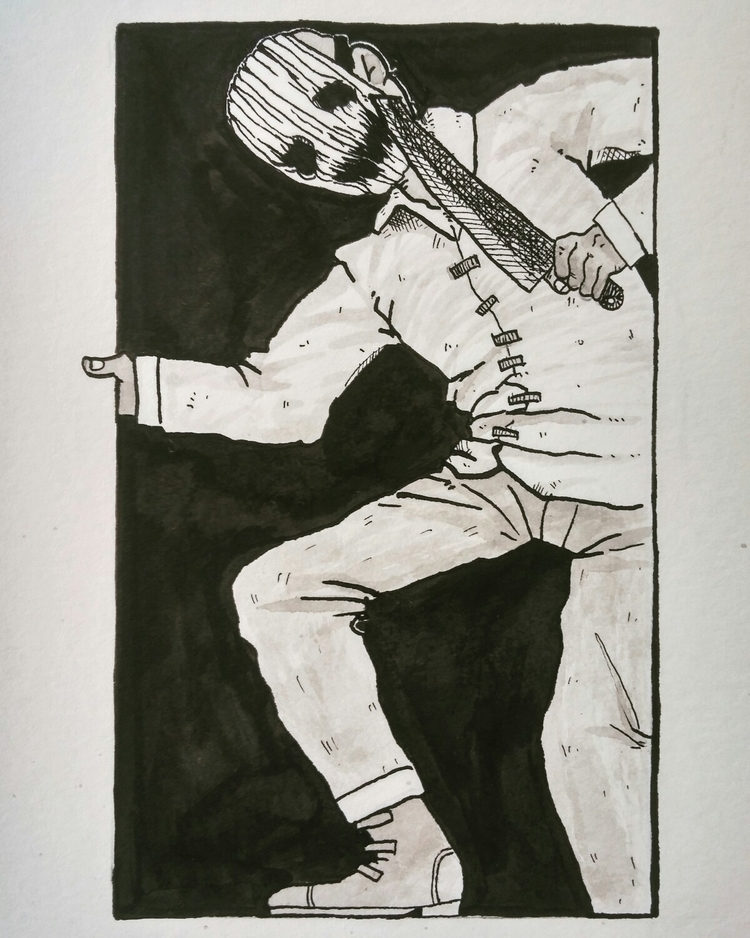 Inktober 2017 -day twenty kille - tannerzaharis | ello