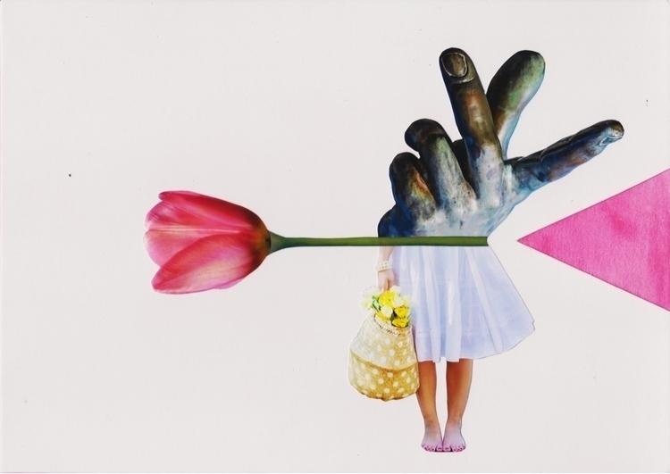 Flowers - 2, Collage, Analogue, Colagem - marianabastoscollage | ello