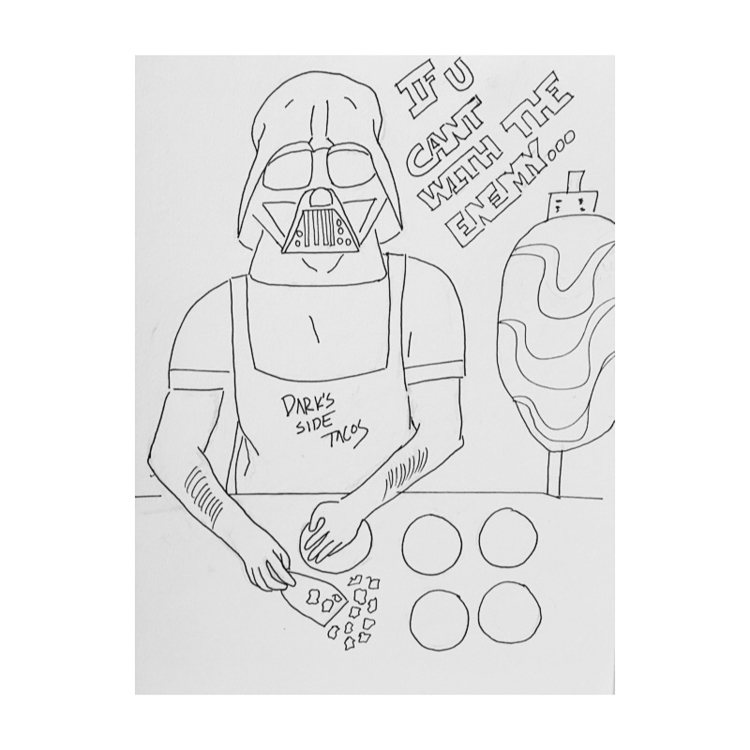 Submitted - foodart, maytheforcebewithyou - paathzvz | ello